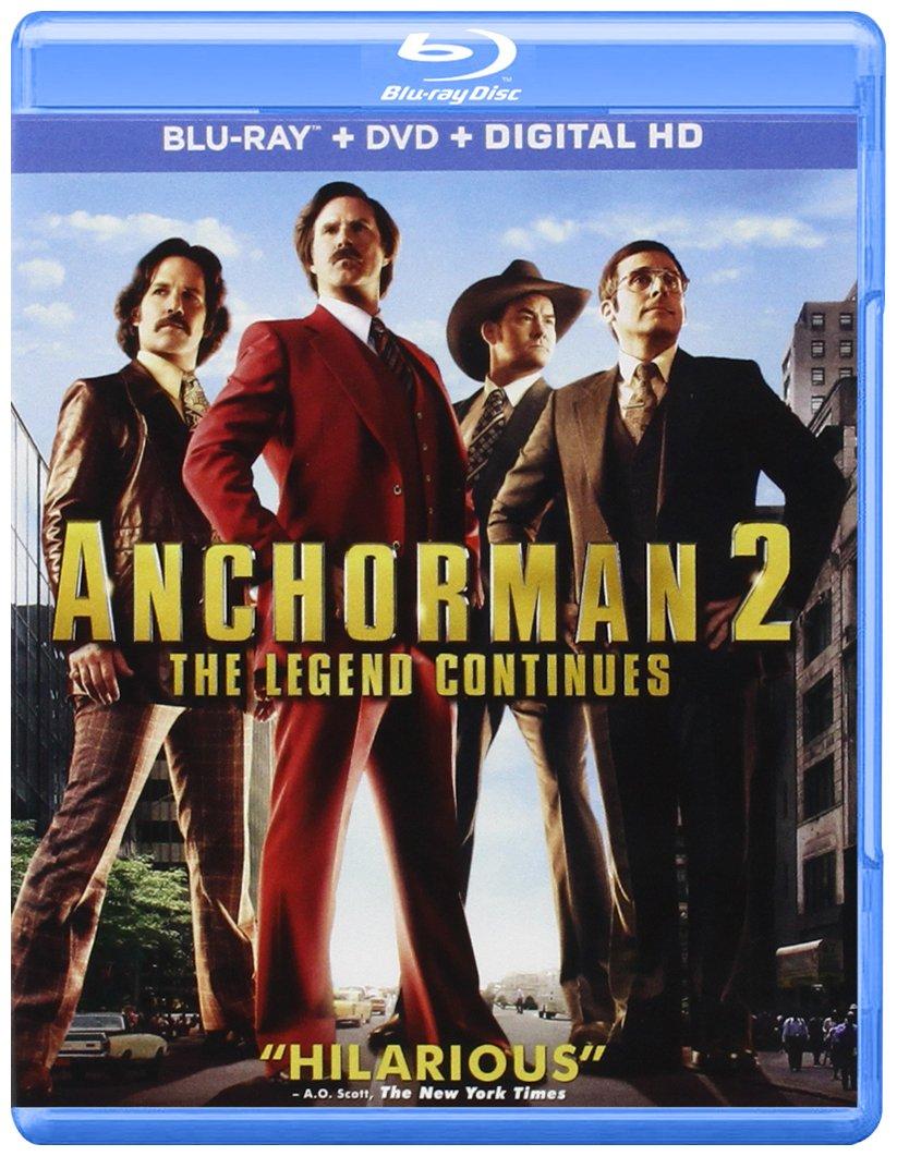 Anchorman 2: The Legend Continues Edizione: Stati Uniti USA ...