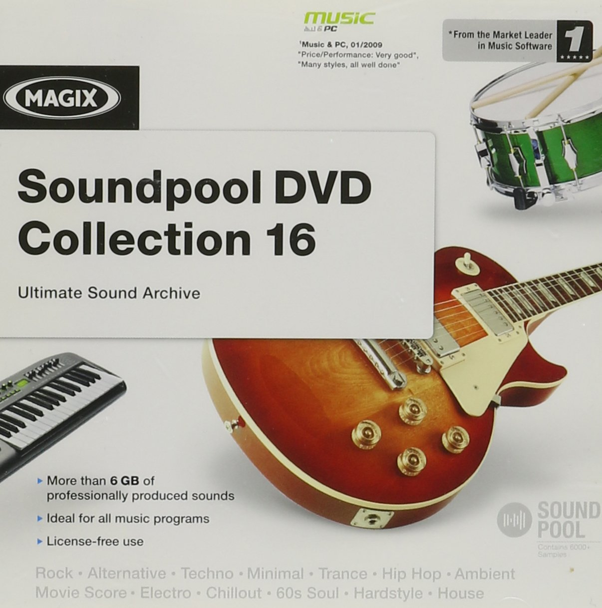 MAGIX Soundpool DVD Collection 16