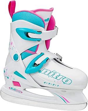 Lake Placid Girls Nitro 8.8 Adjustable Ice Skates