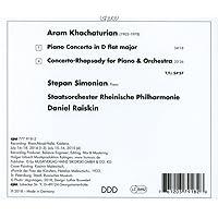 Khachaturian : Concertos pour piano. Simonian, Raiskin.