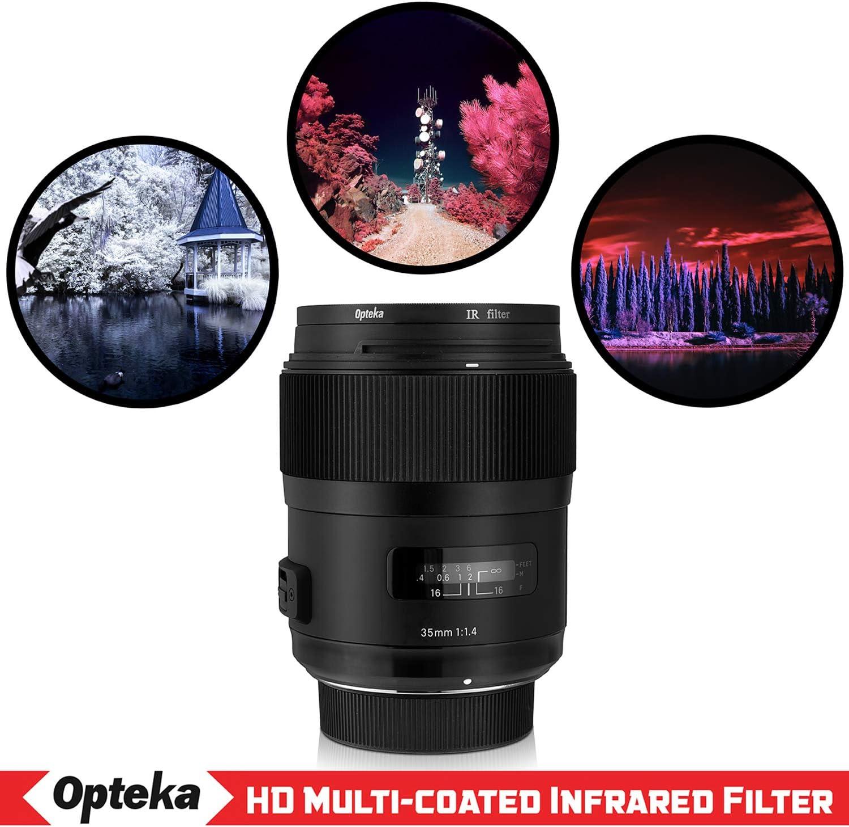 Albinar 58mm Infrared 720nm Digital Pro Glass IR X-Ray Filter Camera Lens