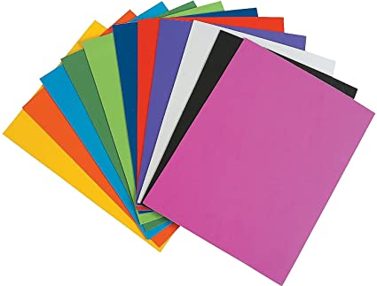 amazon com zap impex eva foam sheet 10 different color a4 size 2mm