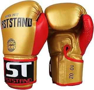 Gants de Boxe, Gants de Sanda Adultes, Combats de Boxe pour Sacs de Sable Junior de Muay Thai Fighting Formation, Hommes et Femmes, Gants de Boxe, Haute qualité
