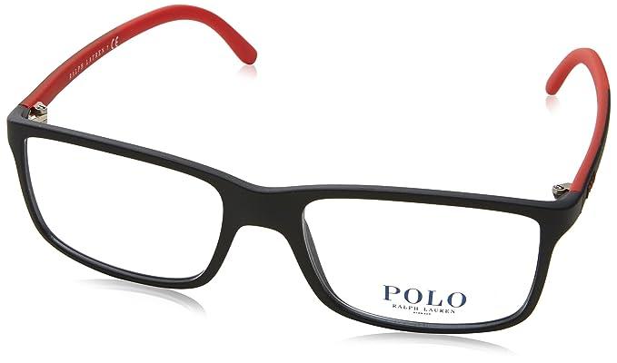Polo Ralph Lauren 0PH2126, Monturas de Gafas para Hombre, Negro (Matte Black)