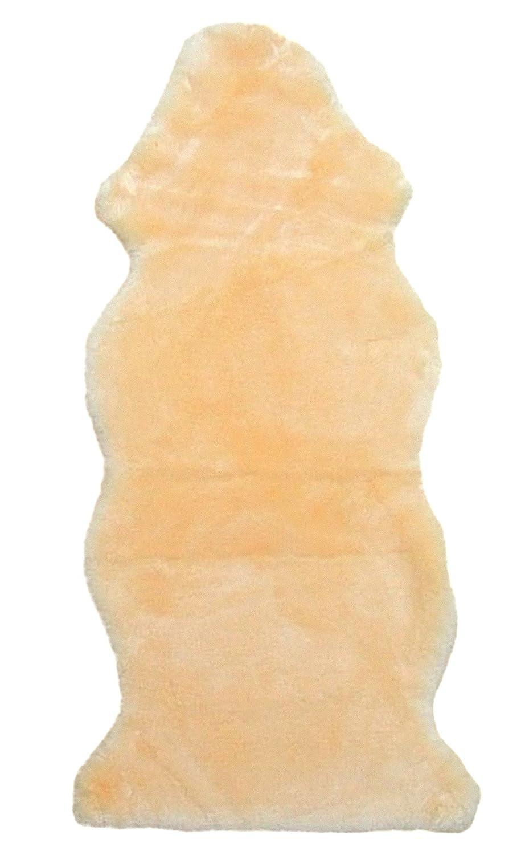 ca australische Doppel Lammfelle aus 1,5 Fellen medizinisch gegerbt geschoren voll waschbar 160x60 cm