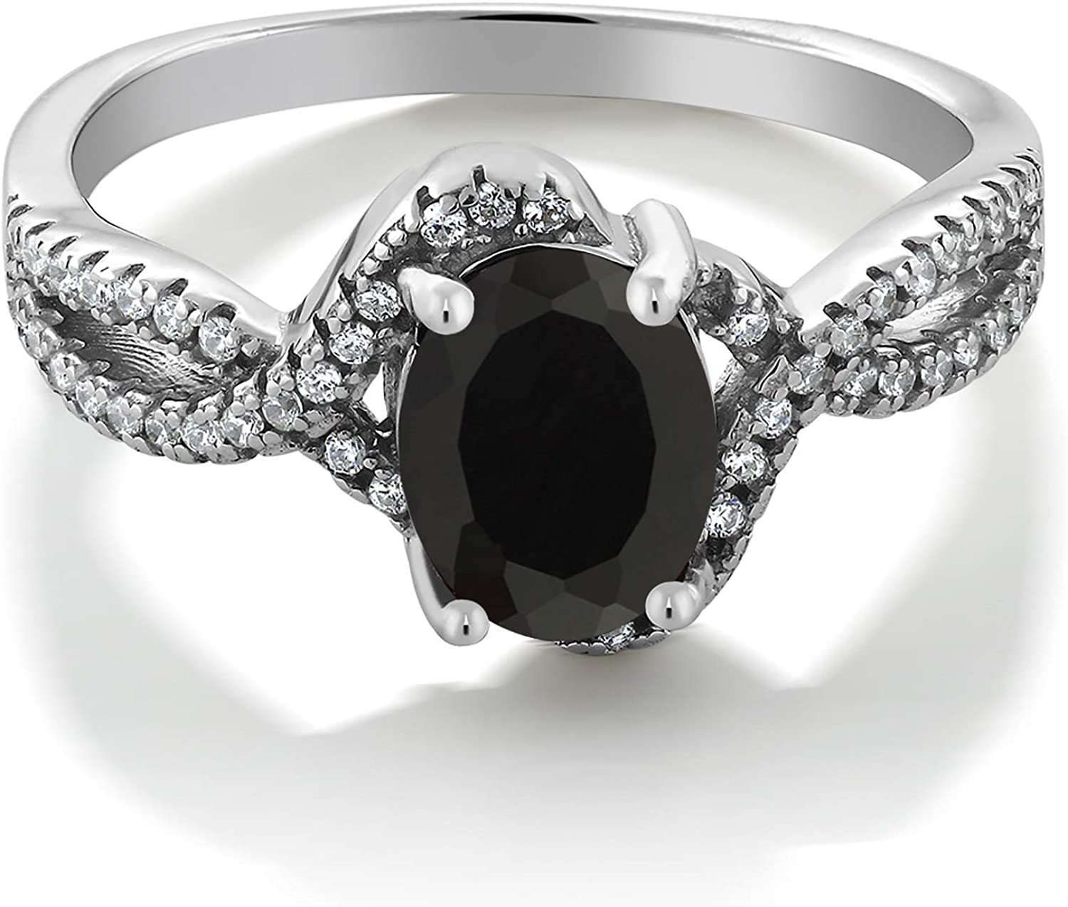 Details about  /925Sterling Silver Certified Handmade Black Onyx stone Christmas Ring For Unisex