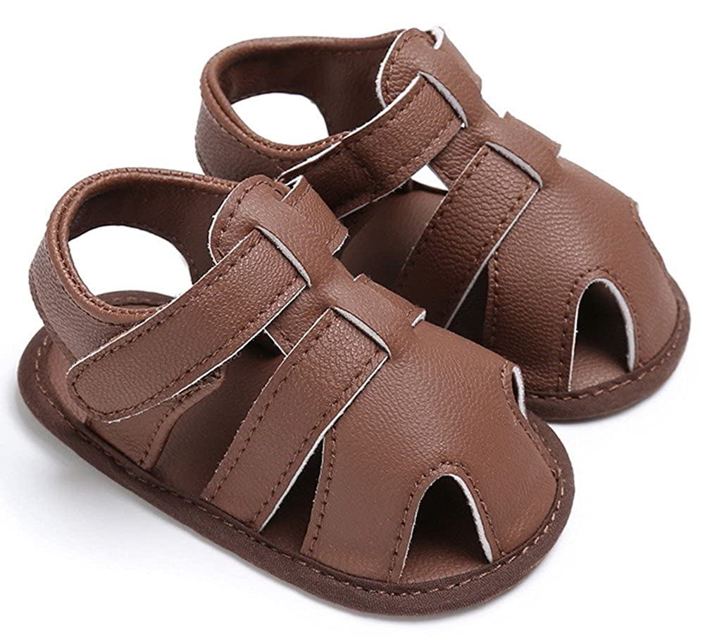 IBBShoes Summer Baby Boy Shoes 0-1 Years Old Sandals Newborn Toddler Shoes