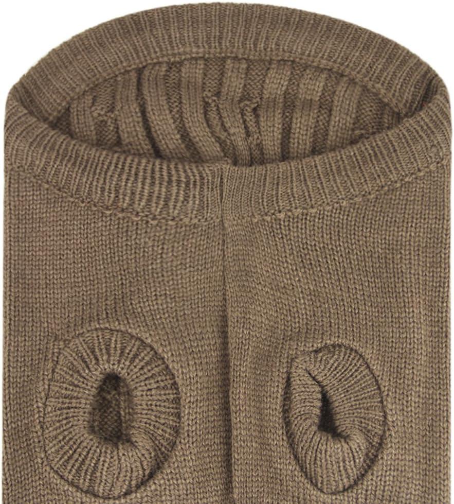 chaleco para invierno Jersey de lana para perros chaqueta para perros ropa c/álida para perros peque/ños y medianos Teddy Chihuahua Shiba Dachshund Bulldog XS S M L oto/ño