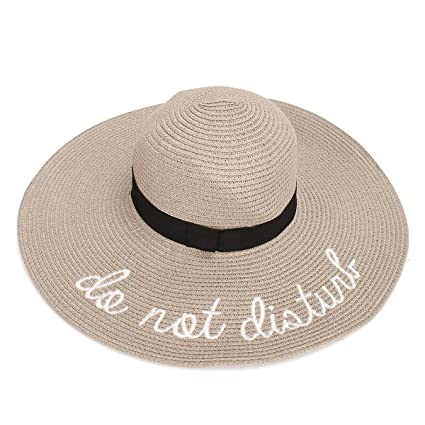 Amazon.com  K A company Women Ladies Wide Brim Foldable Sun Hats ... d82fa97b0b4