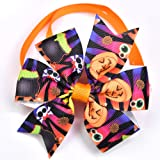 Halloween Dog Cat Bow Ties, Dog Ties, pet Collar