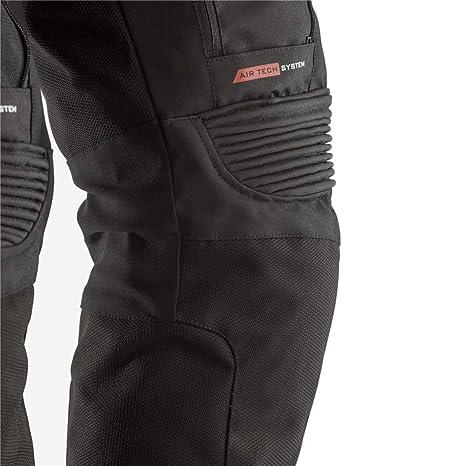 RST Pro Series Adventure 3 III Waterproof  Motorcycle Trousers Ice Blue Red 2851