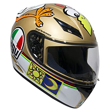 AGV K3 The Chicken Rossi Chicken Motocicleta Casco