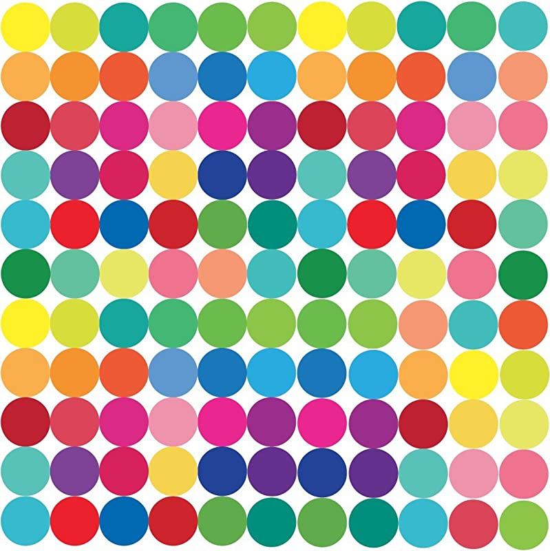 Small Rainbow Tree Clear Dots