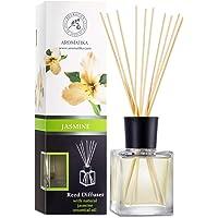 Geurstokjes Jasmijn 200 ml, intensieve - verse, langdurige en frisse geur - aromatherapie - diffuser - luchtverfrisser…