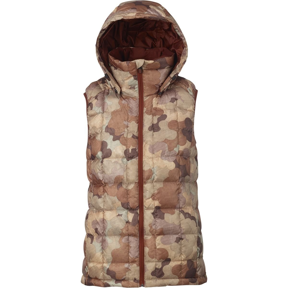 Burton AK Squall Down Hooded Vest - Women's Storm Camo, L