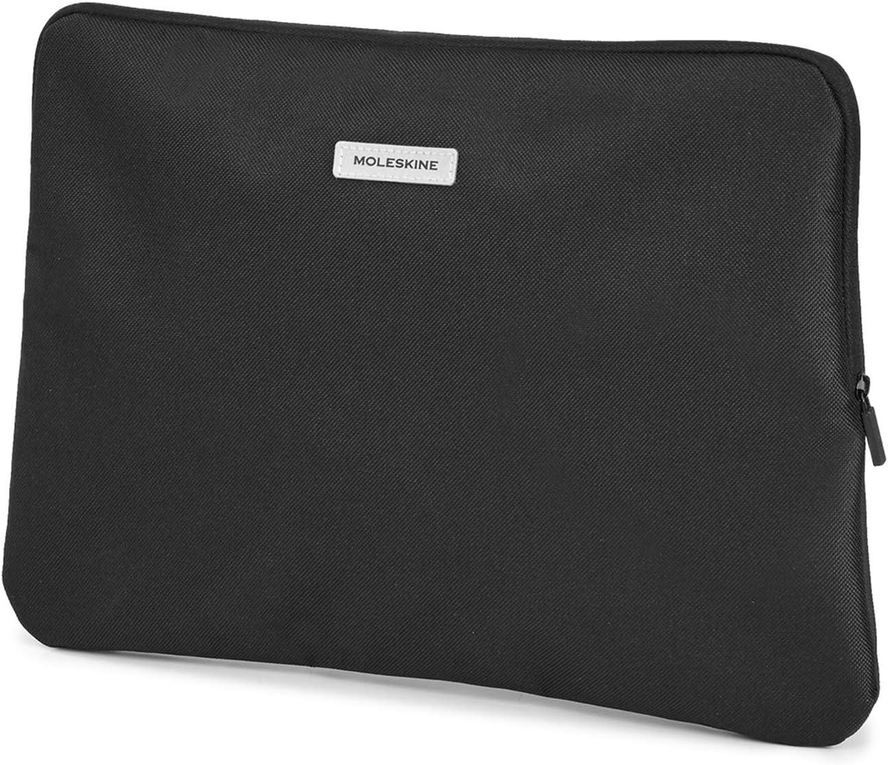 Moleskine Reisetasche Mini Tasche Für Laptop Ipad Tablett Und Notizbuch Bis Zu 13 Zoll Größe 36 X 25 5 X 1 Cm Schwarz Moleskine Bürobedarf Schreibwaren