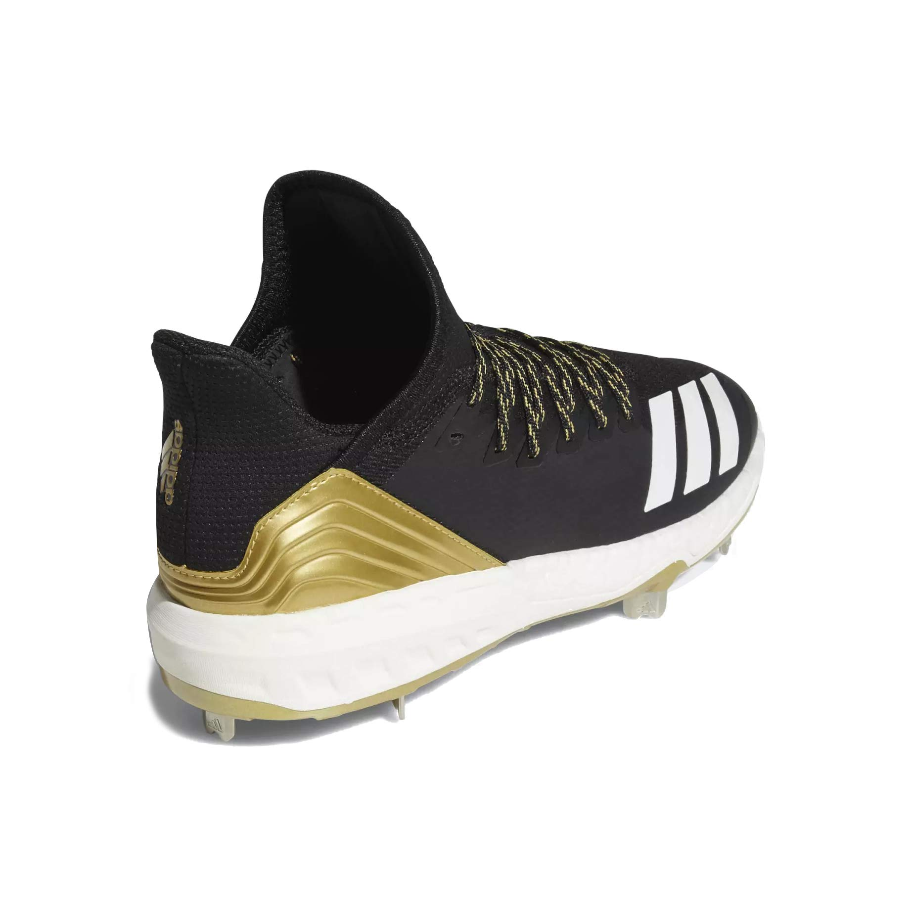 adidas Icon 4 Cleat - Men's Baseball 7 Black/White/Carbon by adidas (Image #3)