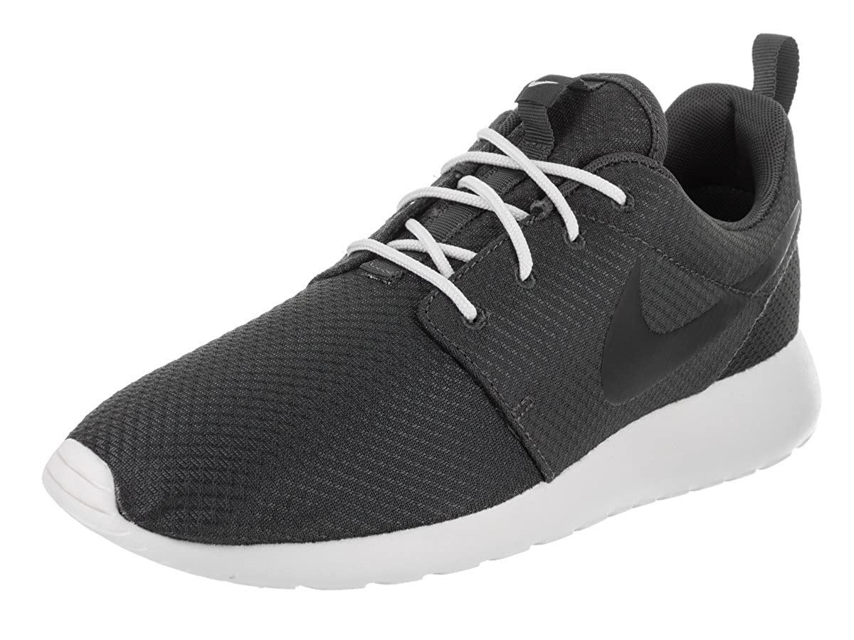 Nike Mens Roshe One Textile Trainers Anthracite Black