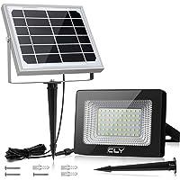 Foco Solar CLY 60 LED Luz Solar Lámpara Solar Exterior 60 LED con Batería 4000mAh Panel Solar ENCENDIDO/APAGADO…