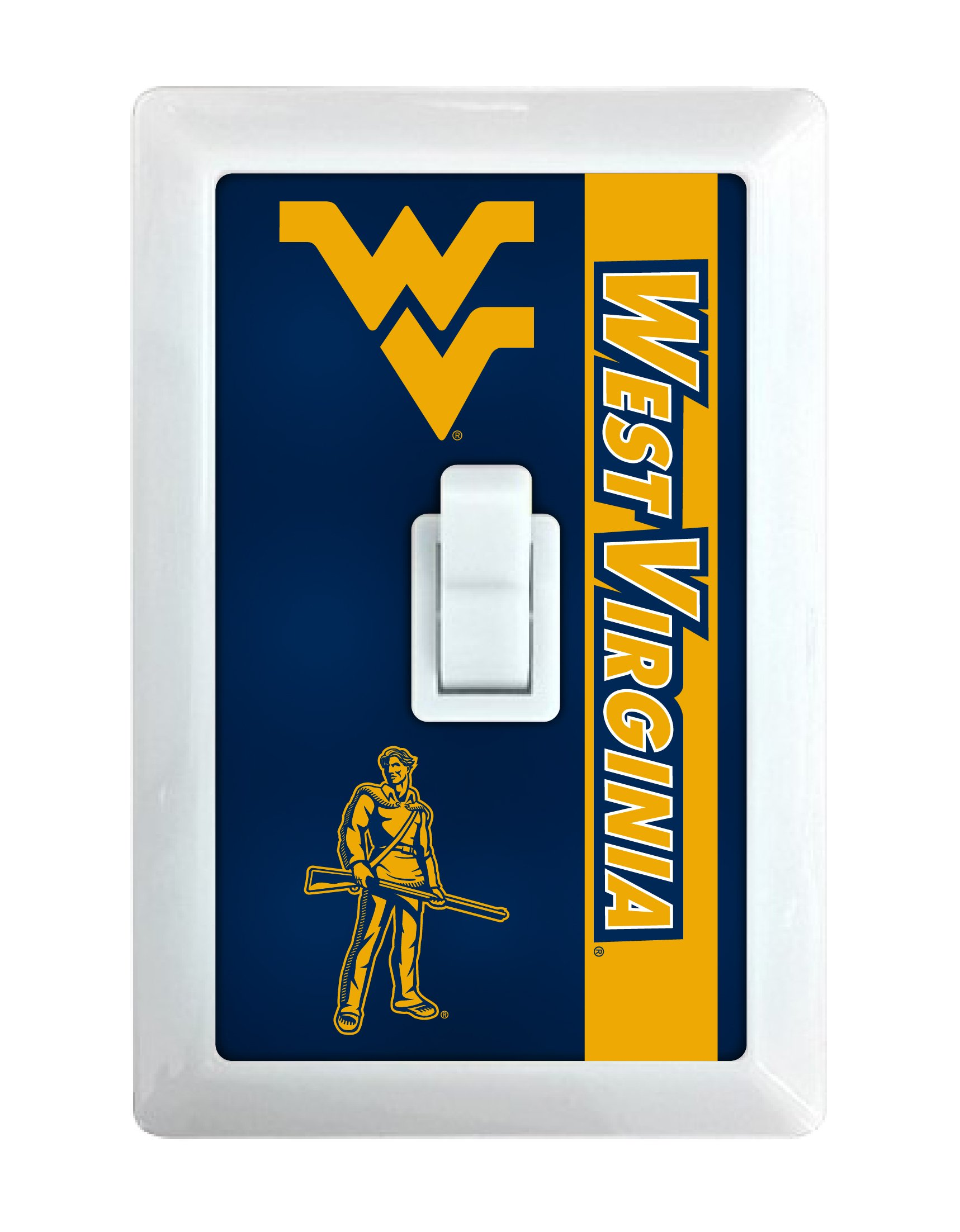 West Virginia Mountaineers LED Light switch