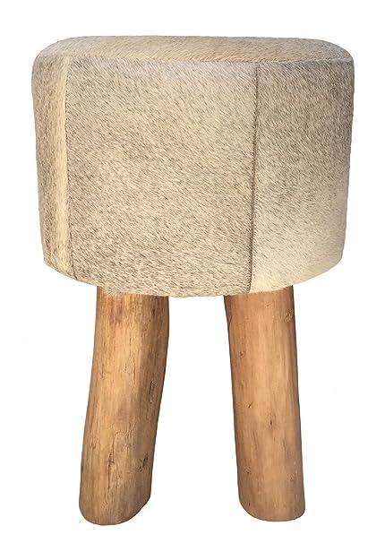 Pleasant Amazon Com Overstock Three Legged Stool Pouf Erin In Grey Beatyapartments Chair Design Images Beatyapartmentscom
