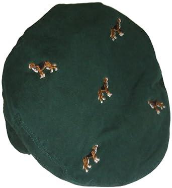 cca54dc6 Ralph Lauren Men's Polo Estate Hunting Dogs Driving Cap Hat L/XL Green