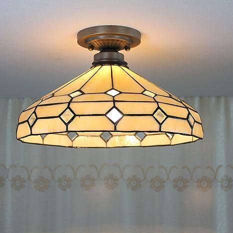 TOYM 14 pulgadas salón minimalista lámparas Tiffany Guti ...
