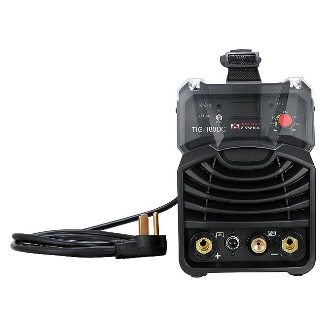 TIG-180 Amp TIG-Torch Stick ARC IGBT Welder 230/110V Dual Voltage Input Welding Machine - - Amazon.com