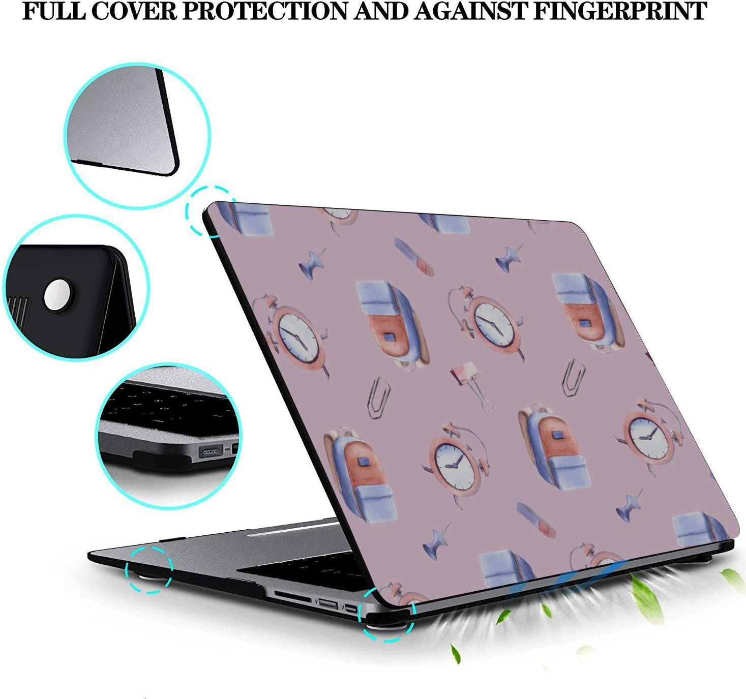 MacBook Pro Screen Protector School Bag Children Backpack Ideas Plastic Hard Shell Compatible Mac Air 11 Pro 13 15 13 MacBook Pro Case Protection for MacBook 2016-2019 Version