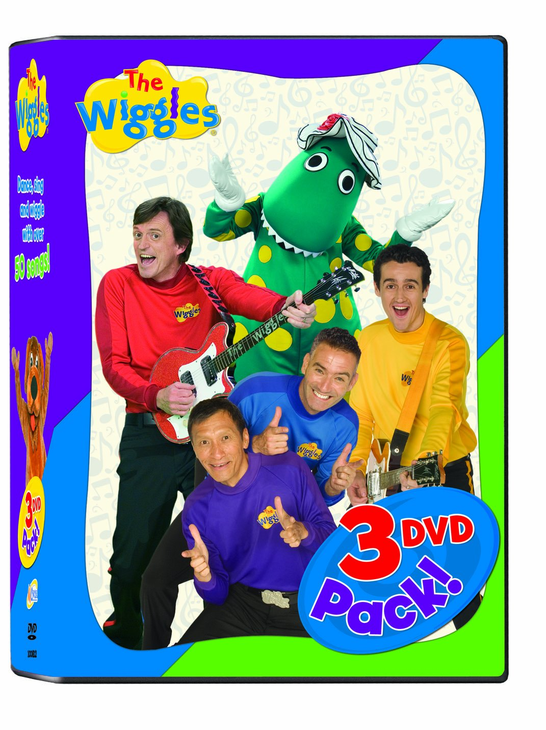The Wiggles - 3 Pack - Car/Time/Dance