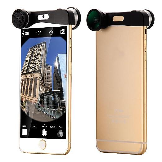 """25 opinioni per Argento Obiettivo Fisheye + Grandangolo Lente + Micro lens Per iPhone 6 4.7"""""""
