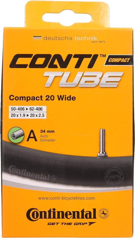 Continental 20 x 1-1//8-1-1//4 42mm Presta Valve Tube