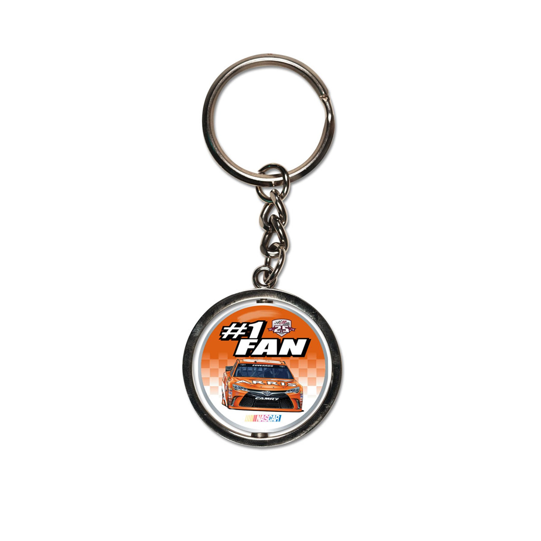NASCAR Carl Edwards Spinner Key Ring