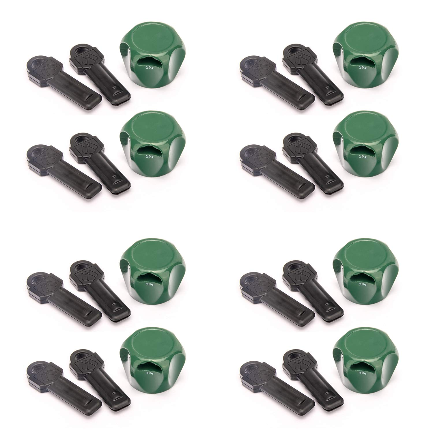 Keyed The Same Promotes Water Conservation Faucet Lock II Flow Security Systems Prevents Water Theft /& Secures Outdoor Taps Fits Most Outdoor Hose Bibbs Magnetic Key FSS 500 4 Pack Inc.