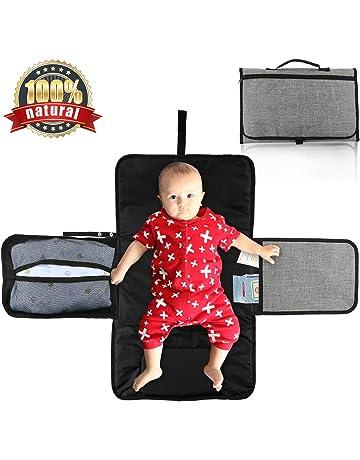 Portátil Cambiador, WisFox Cambiador Portátil de Pañales para Bebé, Kit Cambiador de Viaje,