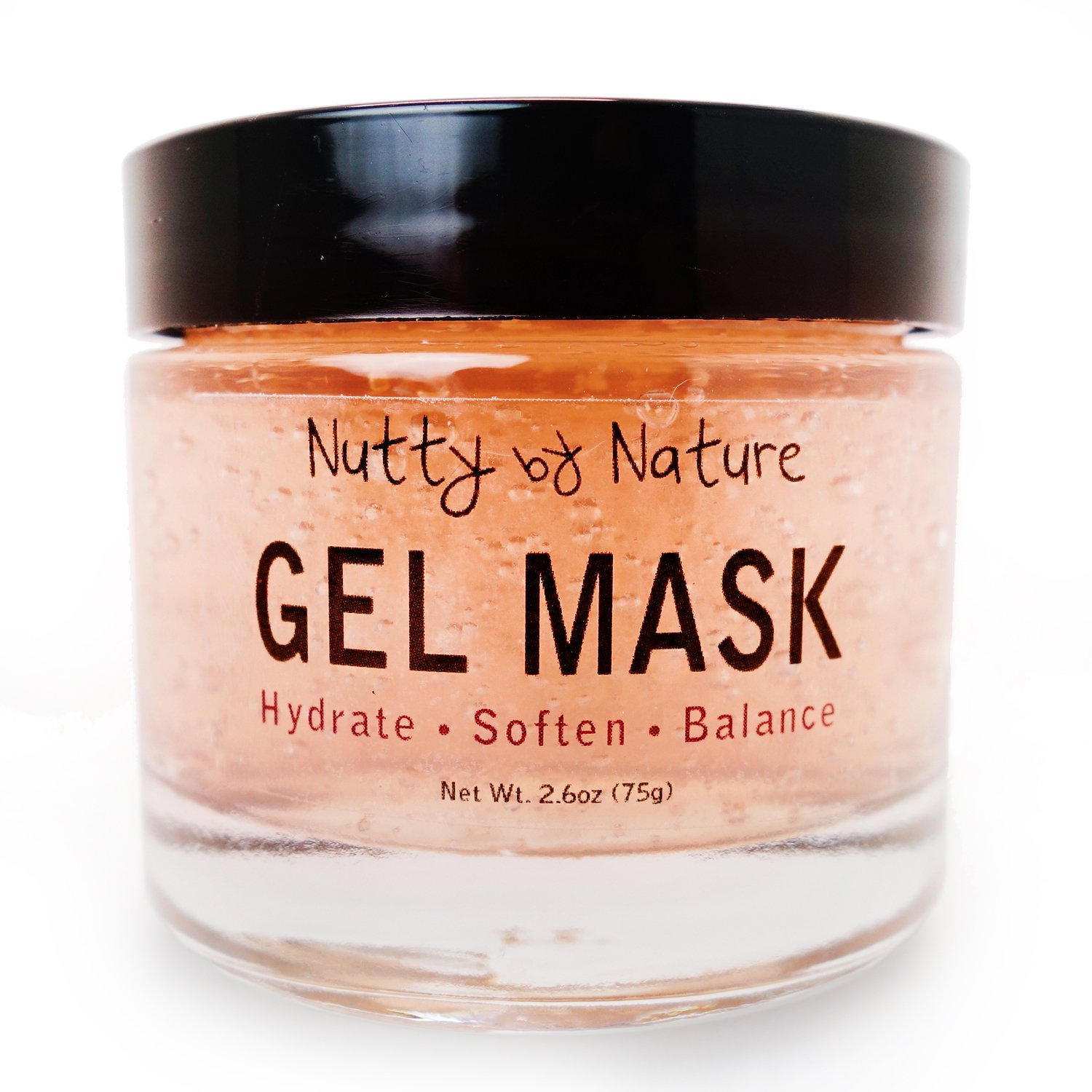 Nutty By Nature Hydrating Gel Mask - 100% Natural