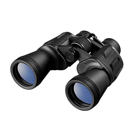 Leshp Prismáticos 20x50 Binoculares óptico Ideales Para Observación De Aves Acampada Caza ópera Conciertos Deportes Turísticas Visita De