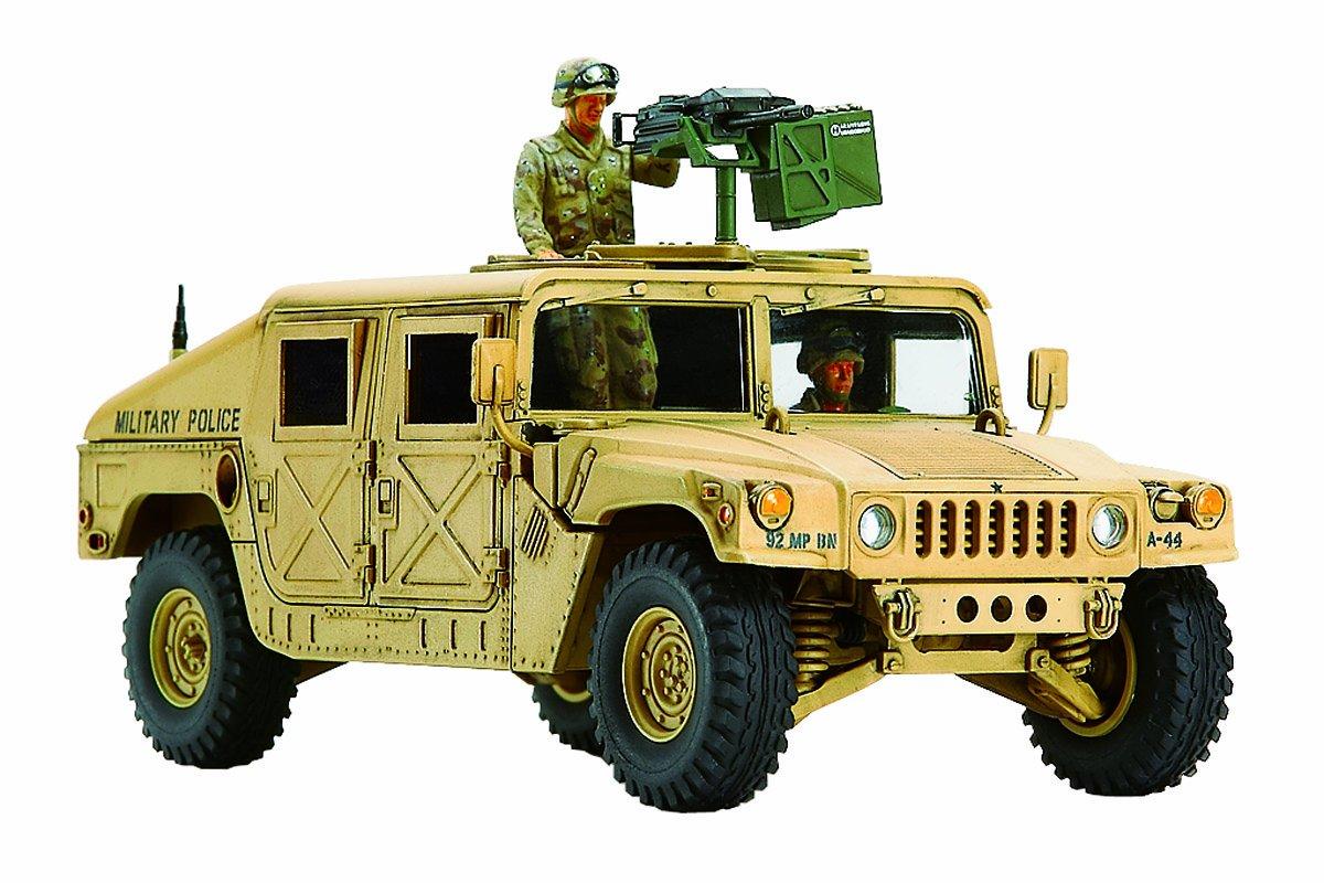 Tamiya 1:48 Military U.s Modern 4x4 Utility Vehicle with Grenade Launcher