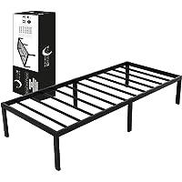 Metalen Bedframe 90x200 x 36 cm - Dreamzie 90x200 cm Metalen Onderstel voor Bed - Voor eenpersoonsbedden of matrassen…