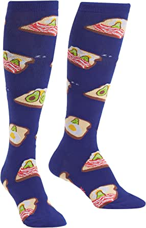 Sock It To Me, Knee High Funky Socks: Food and Drink