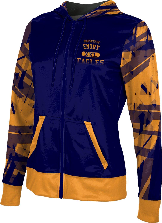 ProSphere Women's Emory College Crisscross Fullzip Hoodie (Apparel) F1D52