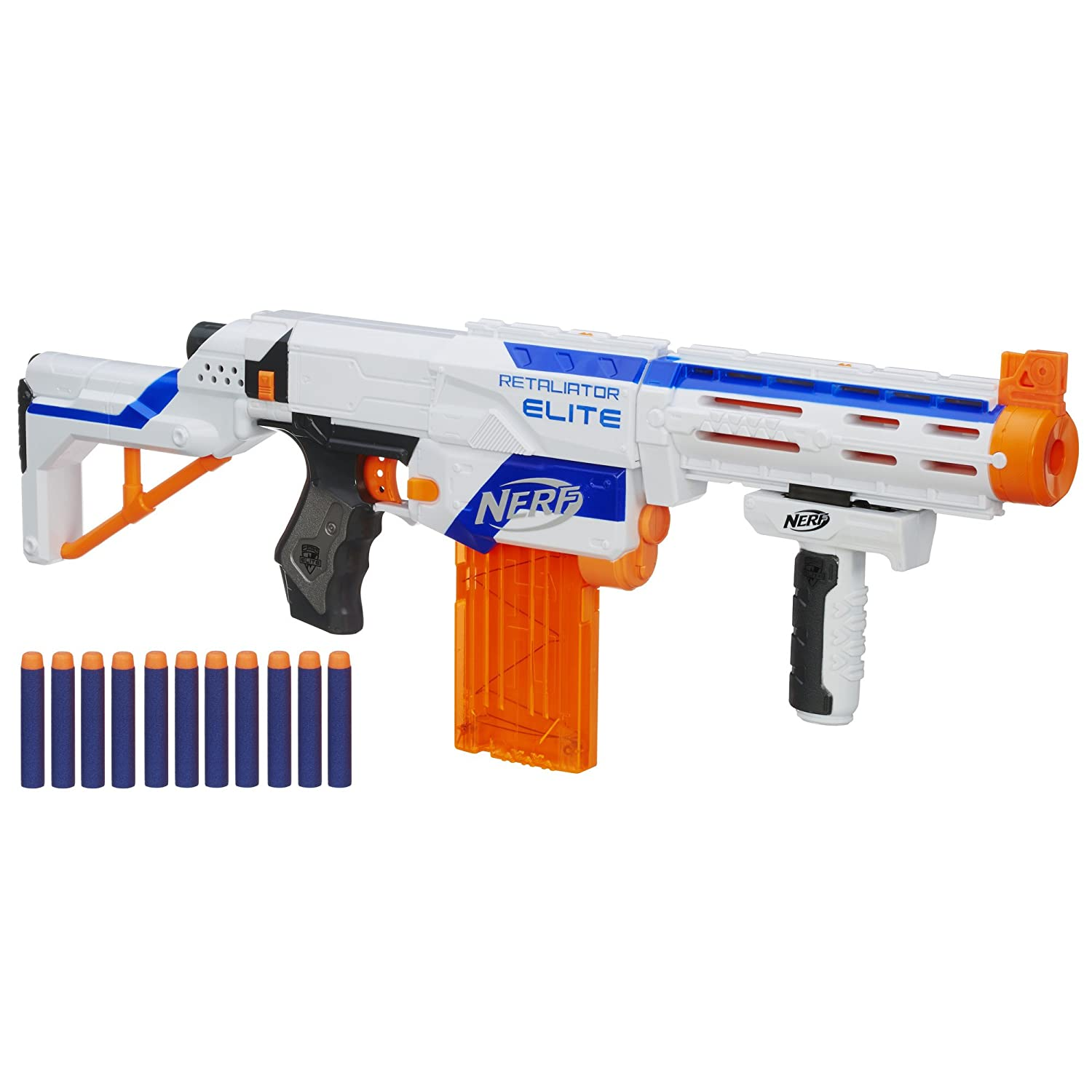 Amazon.com: Nerf N-Strike Elite Retaliator Blaster (Colors May Vary): Toys  & Games