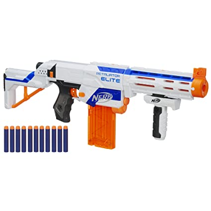 Nerf N-Strike Elite Retaliator Blaster (Colors May Vary)