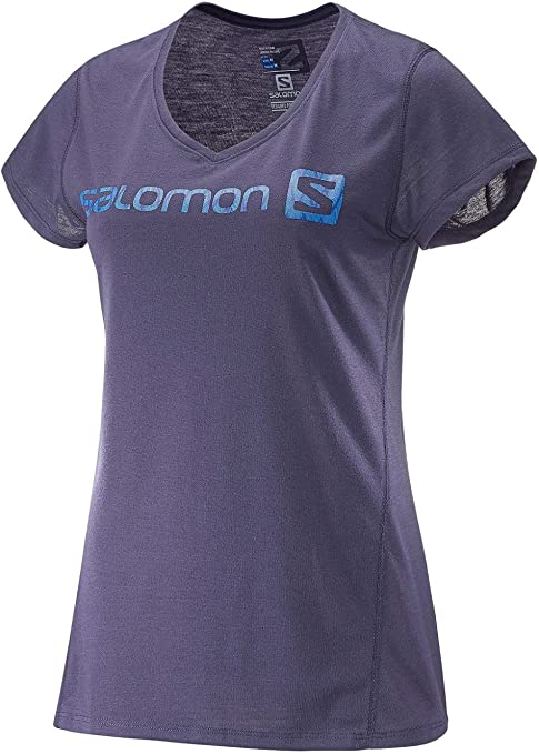 SALOMON MC Elevate SS Tech tee W Camiseta Manga Corta, Mujer: Amazon.es: Ropa y accesorios