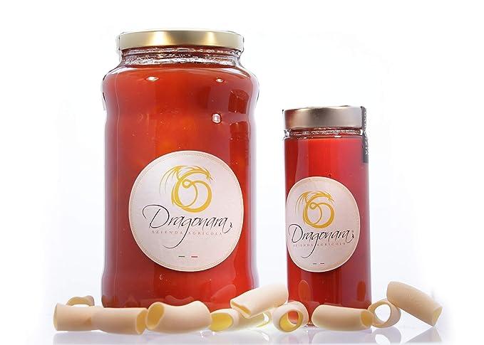 DRAGONARA - Dátiles en Salsa de Dátil - Tarro de 3 kg - Paquete de 4