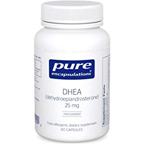 Pure Encapsulations - DHEA (dehydroepiandrosterone) 25 mg