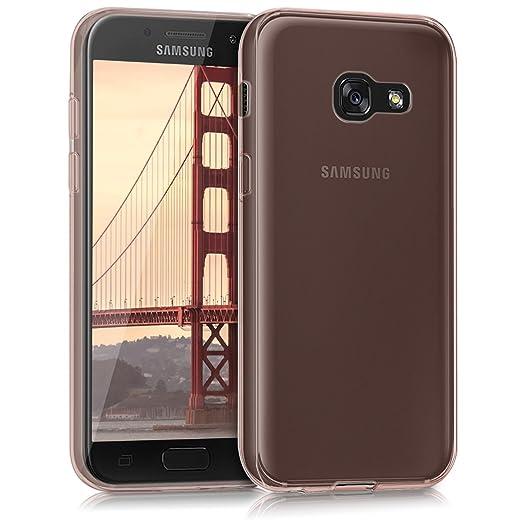 4 opinioni per kwmobile Cover per Samsung Galaxy A3 (2017)- Custodia in silicone TPU- Back case