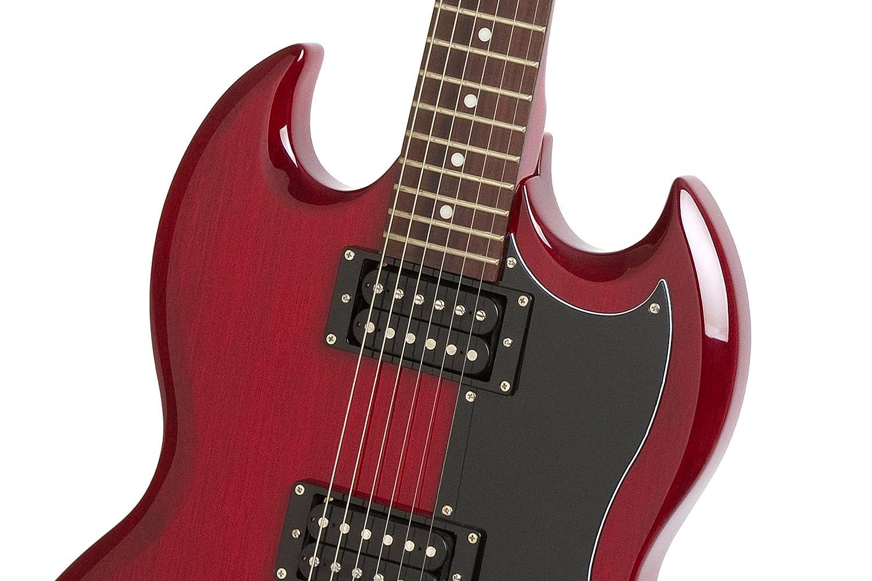 Epiphone SG-Special - Guitarra eléctrica, color rojo (Amazon Exclusivo): Amazon.es: Instrumentos musicales