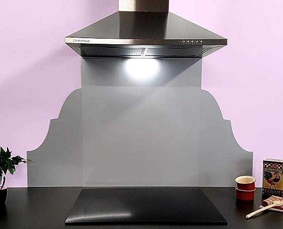 Aparador de cocina color gris plata decoración barroca: Amazon.es: Grandes electrodomésticos