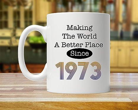 Amazon.com: Taza con texto en inglés «Making The World A ...